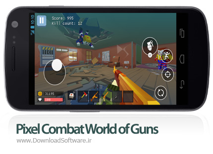 دانلود Pixel Combat: World of Guns