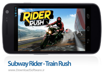 دانلود Subway Rider - Train Rush