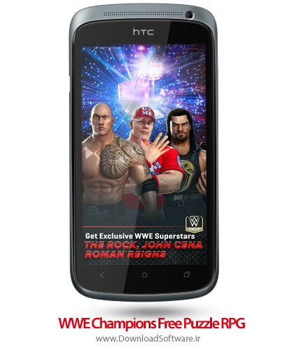 دانلود WWE Champions Free Puzzle RPG