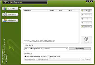 دانلود OpooSoft PDF To More Converter