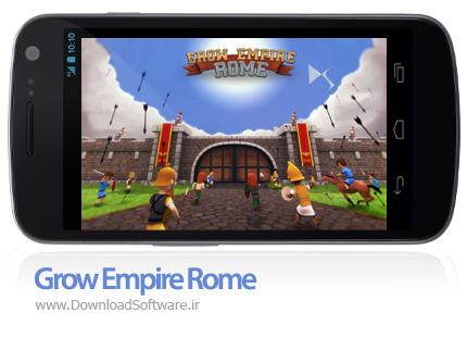 دانلود بازی Grow Empire Rome برای اندروید