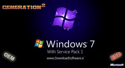 دانلود ویندوز 7 - Windows 7 SP1 9in1