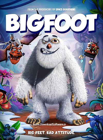 دانلود انیمیشن سینمایی پاگنده (بیگ فوت) Bigfoot 2018 WEB-DL