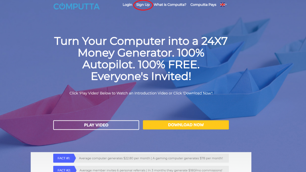 کسب بیتکویین Computta