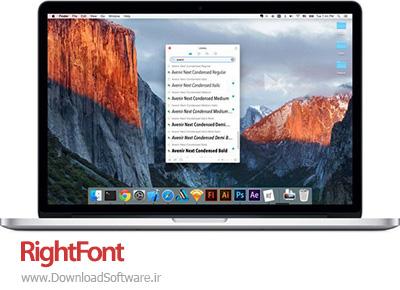 دانلود RightFont macOS