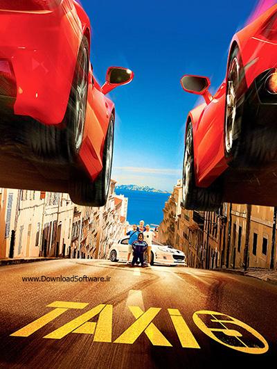 دانلود رایگان فیلم تاکسی 5 با دوبله فارسی Taxi 5 2018 BluRay