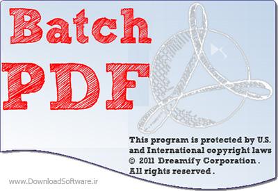 دانلود Batch PDF Pro