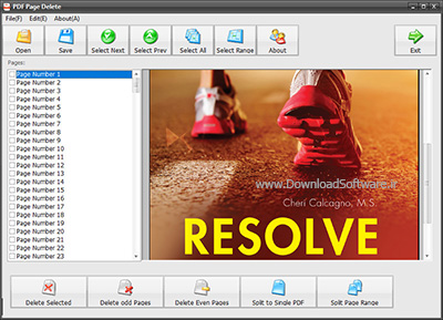 دانلود PDF Page Delete