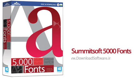 دانلود Summitsoft 5000 Fonts