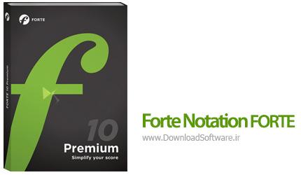 دانلود Forte Notation FORTE 10 Premium - نرم افزار نت نویسی موسیقی