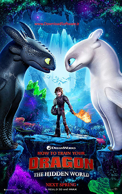 دانلود انیمیشن How to Train Your Dragon: The Hidden World 2019
