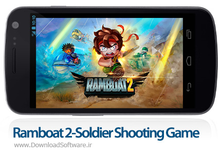 دانلود Ramboat 2-Soldier Shooting Game