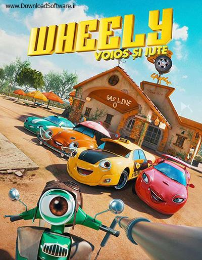 دانلود دوبله فارسی کارتون ویلی: سریع و شاد Wheely: Fast & Hilarious 2018