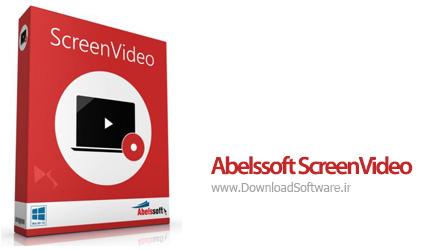 دانلود Abelssoft ScreenVideo - نرم افزار ضبط صفحه نمایش کامپیوتر