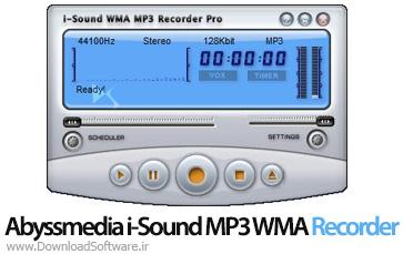 دانلود Abyssmedia i-Sound MP3 WMA Recorder Pro