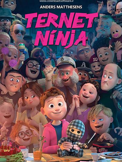 دانلود انیمیشن چکرد نینجا با کیفیت بلوری Checkered Ninja 2018 BluRay