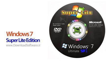 دانلود Windows 7 Super Lite Edition SP1 June 2019 - ویندوز 7 نسخه