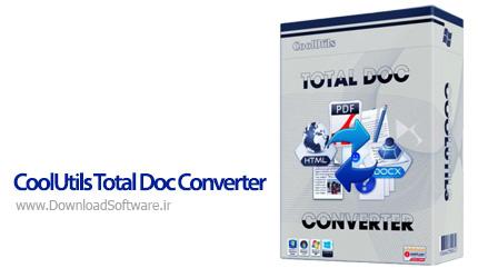 دانلود CoolUtils Total Doc Converter - نرم افزار تبدیل فرمت Doc به تمامی اسناد