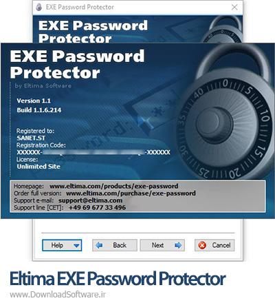 دانلود Eltima EXE Password Protector