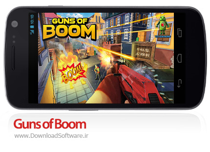 دانلود Guns of Boom - بازی اکشن اسلحه بوم اندروید