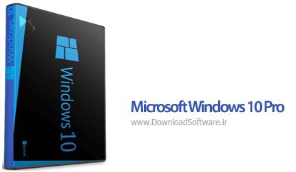 دانلود Microsoft Windows 10 Pro (x86/x64) - مایکروسافت ویندوز 10 نسخه پرو