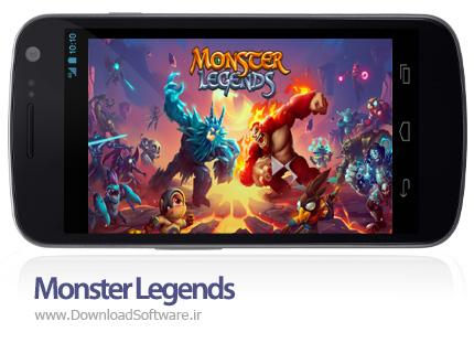 دانلود Monster Legends بازی افسانه های هیولا اندروید