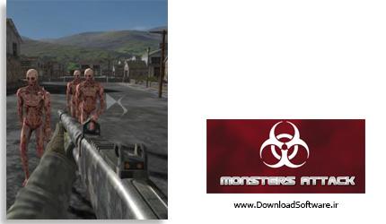 دانلود بازی Monsters Attack برای کامپیوتر