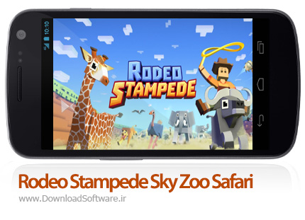 دانلود Rodeo Stampede: Sky Zoo Safari بازی مدیریت باغ وحش اندرویدلود Rodeo Stampede: Sky Zoo Safari