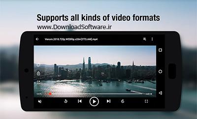 دانلود Video Player Pro - قدرتمند ترین موزیک پلیر و ویدیو پلیر برای اندروید