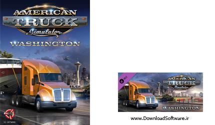 دانلود بازی American Truck Simulator Washington برای کامپیوتر
