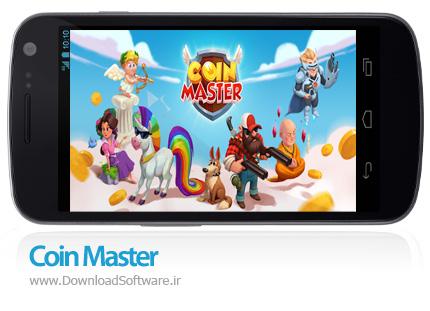 دانلود بازی Coin Master - بازی کژوال استاد سکه اندروید