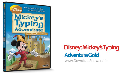 دانلود Disney: Mickey's Typing Adventure Gold
