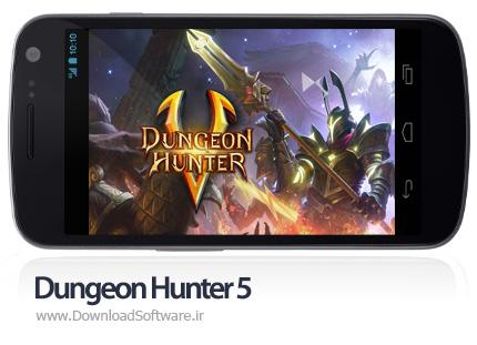 دانلود بازی اندروید Dungeon Hunter 5 - بازی شکارچی سیاه چال 5 اندروید