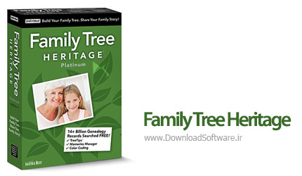 دانلود Family Tree Heritage Platinum