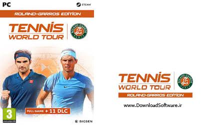 دانلود بازی Tennis World Tour Roland Garros Edition برای کامپیوتر