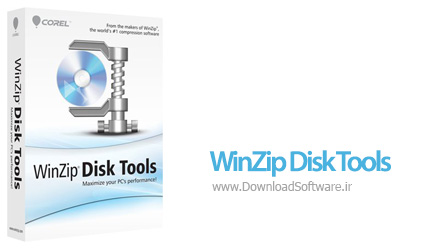دانلود WinZip Disk Tools نرم افزار بهبود عملکرد هارد