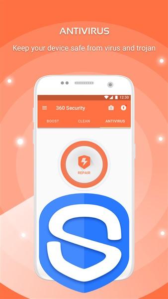 دانلود 360 Security - Antivirus Boost - آنتی ویروس محبوب اندروید