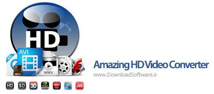 دانلود Amazing HD Video Converter - نرم افزار تبدیل فیلم های HD با کیفیت بالا