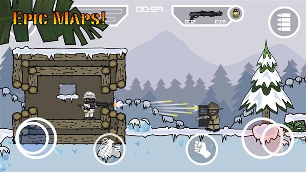 دانلود بازی رایگان Doodle Army 2 : Mini Militia