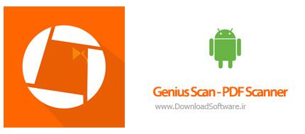 دانلود Genius Scan – PDF Scanner بهترین برنامه اسکنر اسناد اندروید