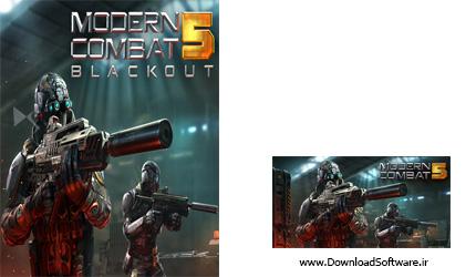 دانلود بازی مدرن کمبت 5 Modern Combat 5 BlackOut برای کامپیوتر