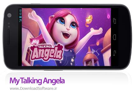 دانلود My Talking Angela - بازی دخترانه صحبت با آنجلا اندروید