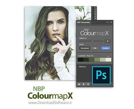 دانلود NBP ColourmapX for Adobe Photoshop پلاگین استخراج رنگ تصاویر فتوشاپ