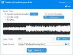 دانلود ThunderSoft Audio Recorder نرم افزار مبدل فایل های صوتی