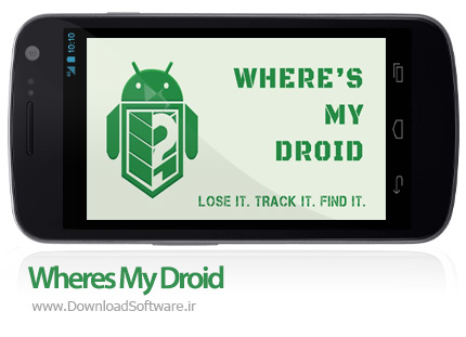 دانلود Wheres My Droid Pro نرم افزار پیدا کردن دستگاه اندرویدی