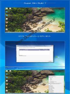 دانلود Windows 7 Ultimate Super Slim Edition June 2019 x64