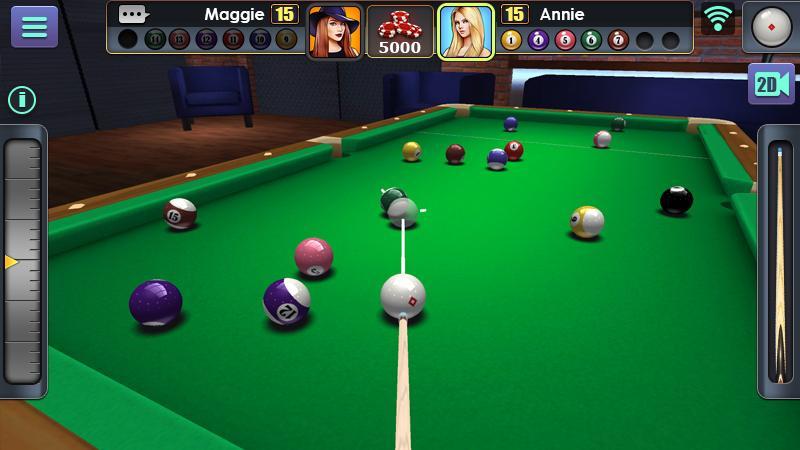دانلود بازی 3D Pool Ball برای اندروید