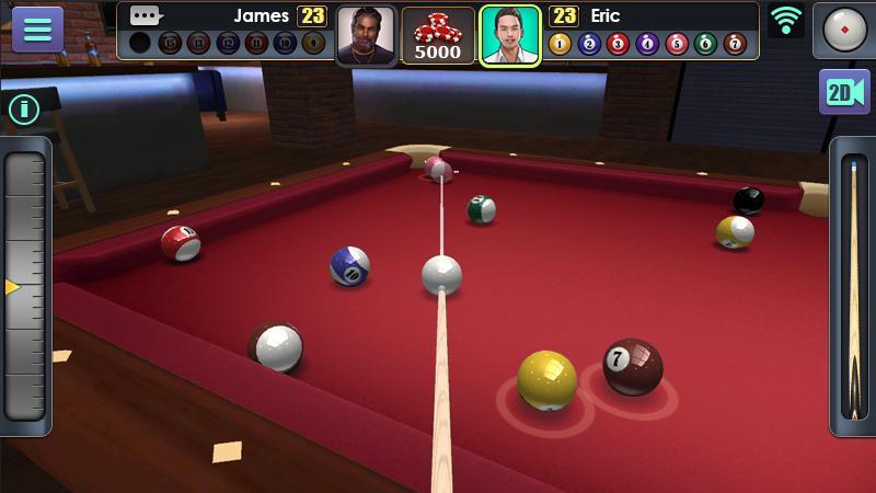 بازی جدید 3D Pool Ball برای اندروید