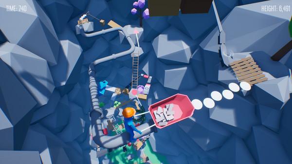 دانلود بازی Climb With Wheelbarrow برای pc