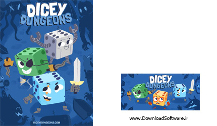 دانلود بازی Dicey Dungeons برای کامپیوتر